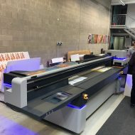 LIYU ITALIA KC UV LED plotter flatbed