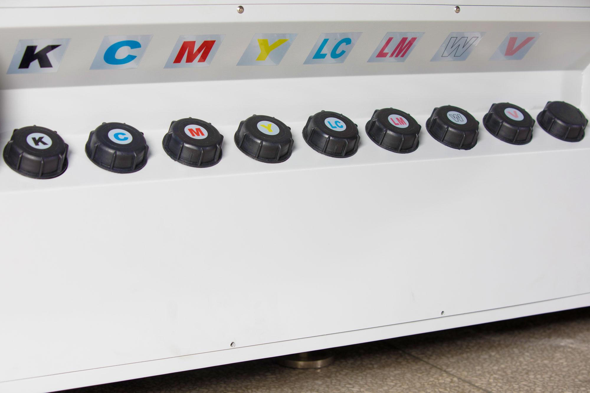 LIYU ITALIA KC tecnologia taniche inchiostro