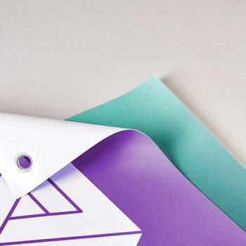 stampa taglio banner PVC