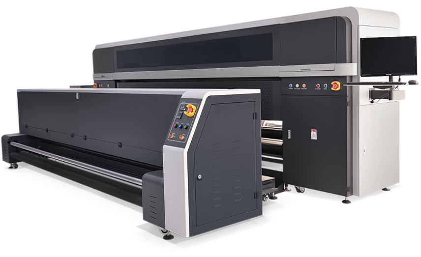 LIYU ITALIA FH-DIRECT plotter tessile roll to roll