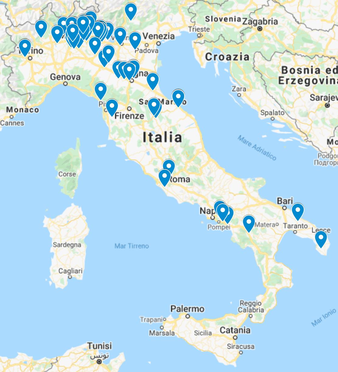 LIYU ITALIA periferiche installate