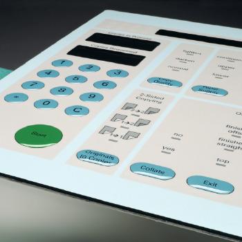 stampa taglio tastiere a membrana
