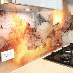 stampa diretta top cucina