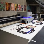 KC UV LED PLOTTER STAMPA FLATBED CARTOTECNICA